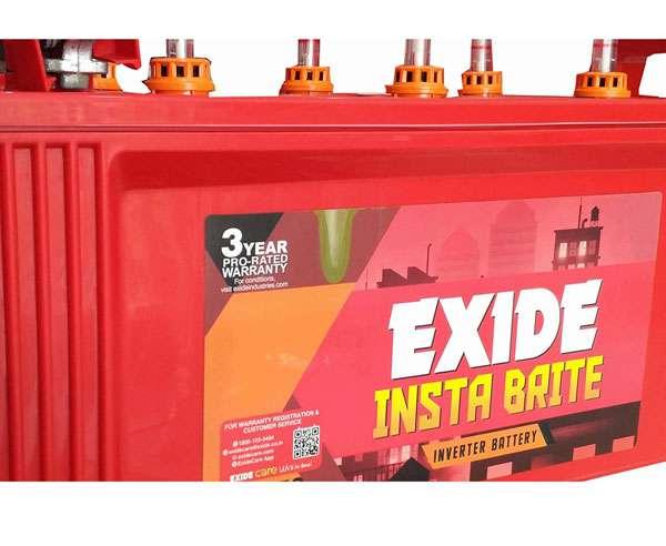 Exide New Instabrite - best inverter battery